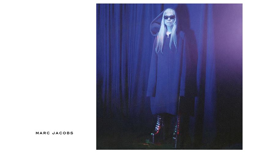 MARC JACOBS マーク ジェイコブス 2016年秋冬広告キャンペーンに灰野敬二を起用
