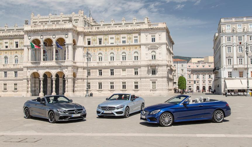 新型「Cクラス カブリオレ」に試乗|Mercedes-Benz