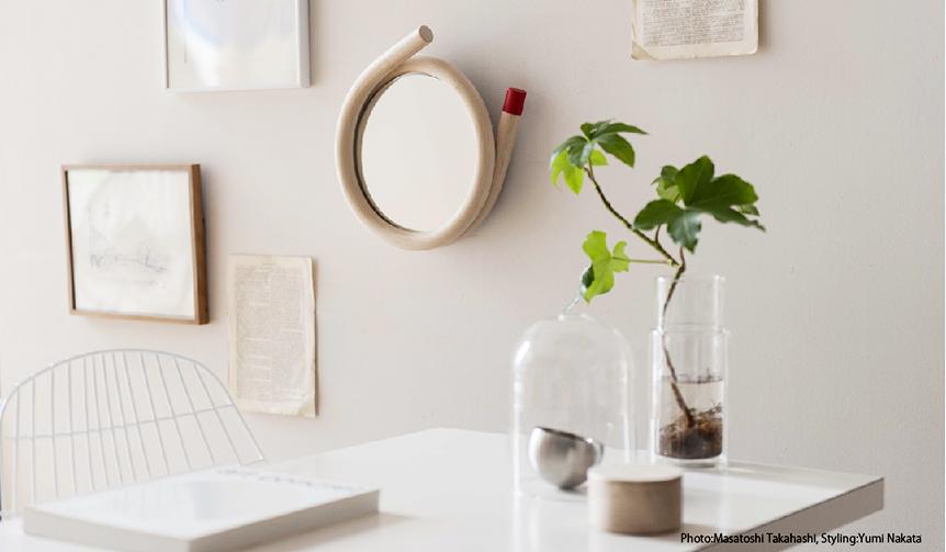 METROCS|トラフ建築設計事務所と壁掛けのミラーを製作|METROCS