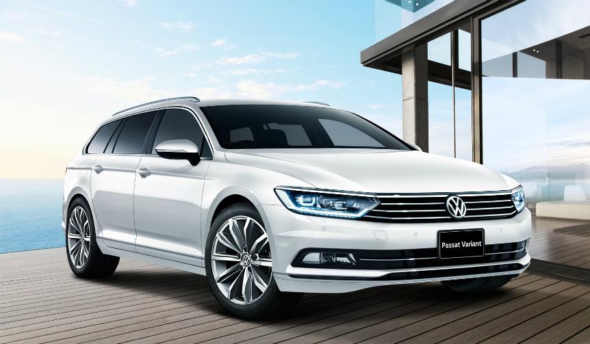 Volkswagen|パサート ヴァリアントに、日本専用の特別限定車登場