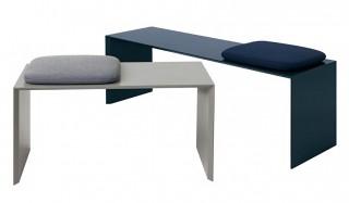 サイドテーブルに、ベンチに。浮遊感を感じるミニマルな家具 |Schönbuch
