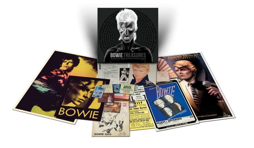 BOOK|デヴィッド・ボウイの華々しいキャリアを振り返る「ボウイ・トレジャーズ」が限定発売