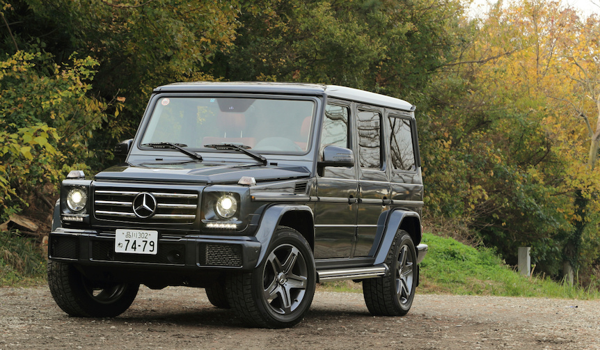 G550 mercedes benz web magazine for Mercedes benz home page