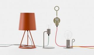 ランプスタンドとランプケーブル、好みのカラーで組み合わせが可能 |HIGHTIDE