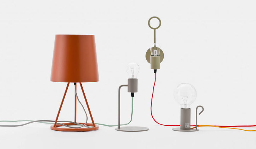 HIGHTIDE|ランプスタンドとランプケーブル、好みのカラーで組み合わせが可能