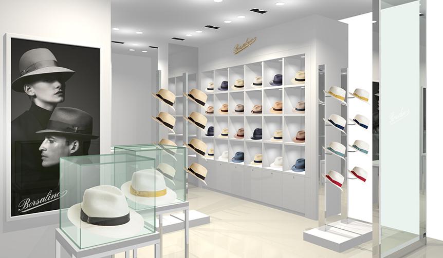 BORSALINO|ボルサリーノ大丸東京店がリニューアルオープン