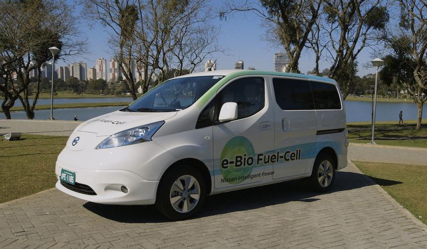 日産、エタノールで走る燃料電池車のプロトタイプを発表|Nissan