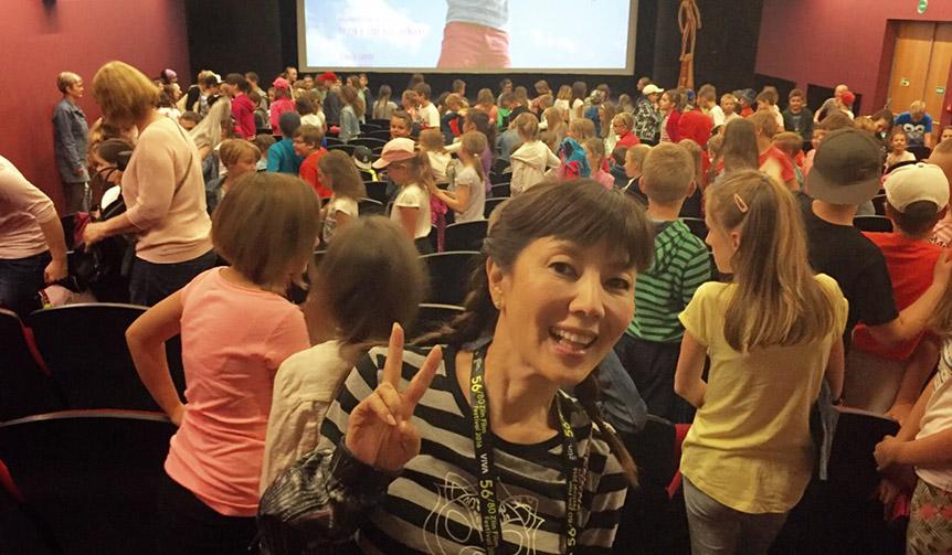 戸田恵子|キネコ映画祭に、ライブに…大忙しの日々