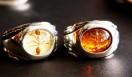90年代後半~00年代初期に大きな話題を生んだ、アントシリーズのリング。フィリピンのシナモンアリを樹脂で固めている。非売品。