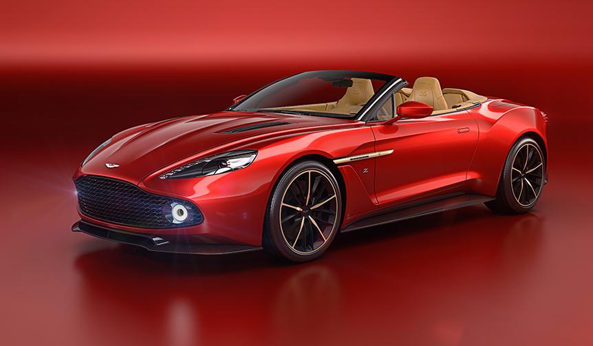 Aston Martin|ザガートとコラボレーションした「ヴァンキッシュ ザガート」のオープンモデルが登場