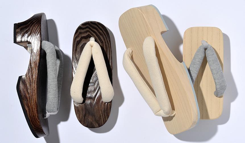 MIKAMO MOKURI|日本の伝統と現代の素材を活かした桐下駄「みかも木履」