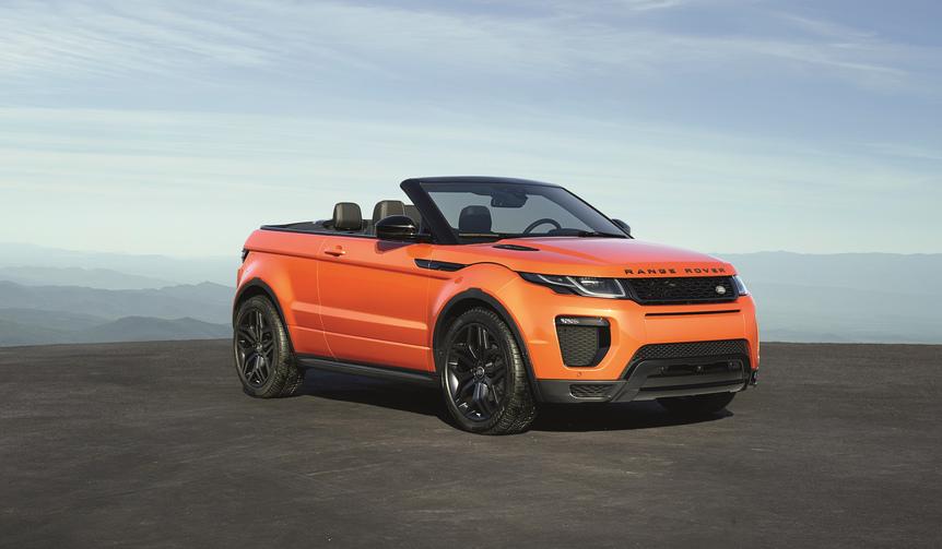 イヴォーク第7のモデル、コンバーチブルの受注を開始|Range Rover