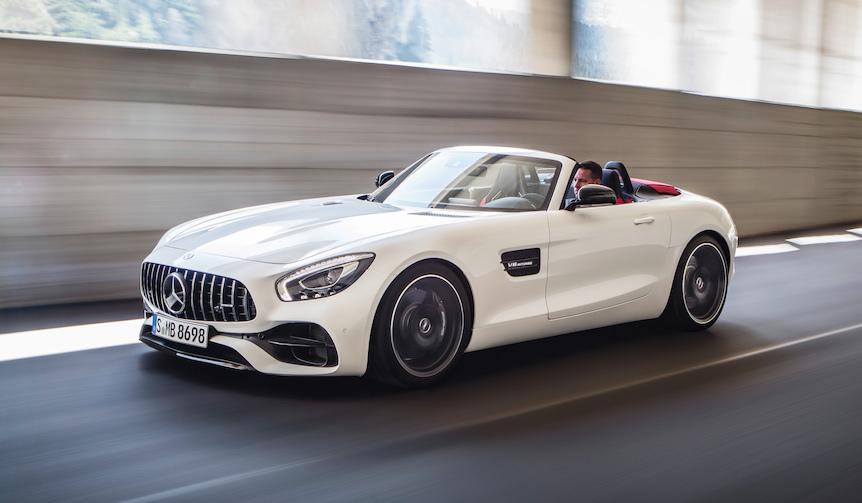 AMG GTのオープンバージョンが登場|Mercedes-AMG
