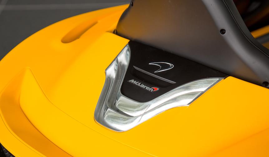 マクラーレン、P1ベースのEVを発表|McLaren