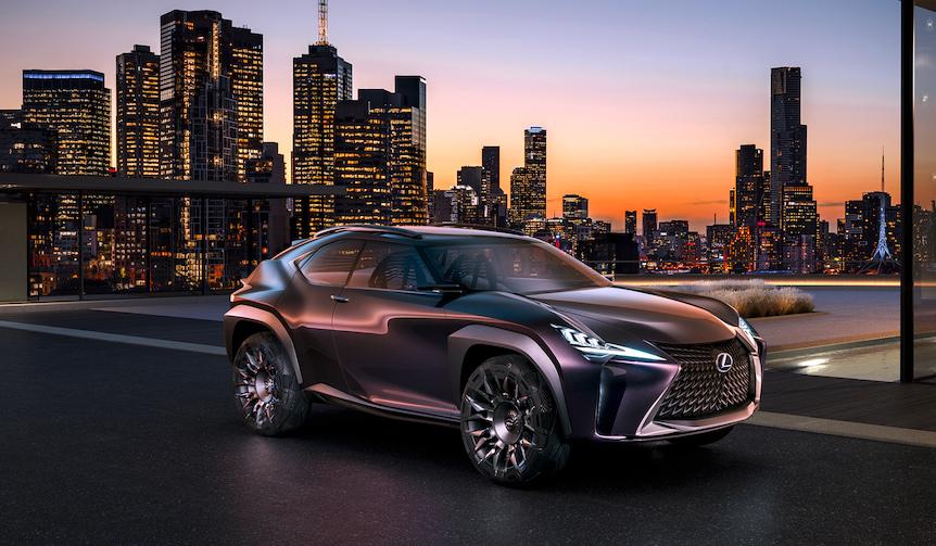 コンパクトクロスオーバーのコンセプト「UX」を公開|Lexus