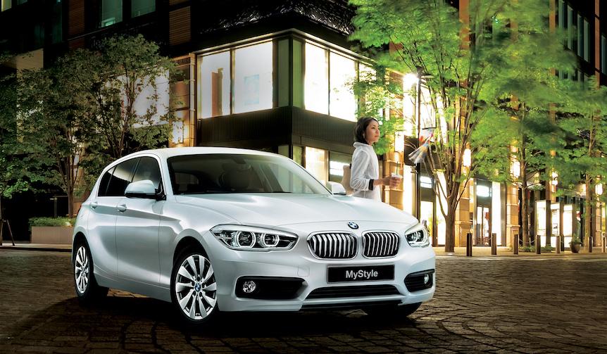 内外装のモノトーンが印象的な1シリーズ限定モデル|BMW