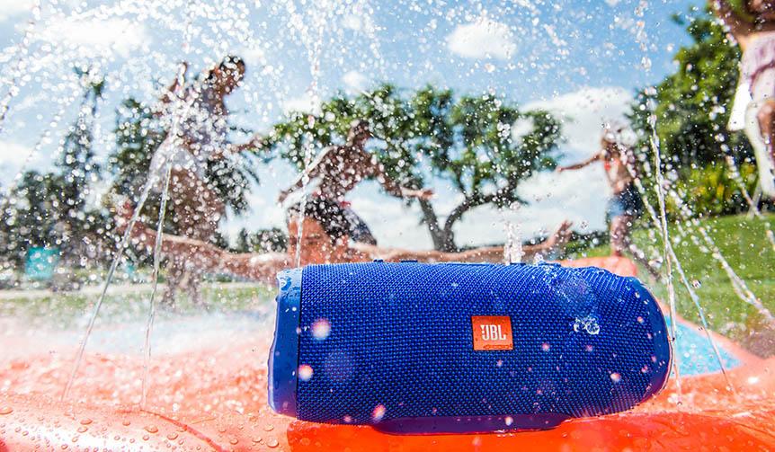 JBL|サウンドをさらに追及した防水Bluetooth スピーカー