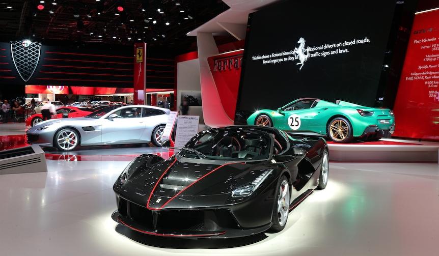 ラフェラーリのオープン版、その名はアペルタ|Ferrari