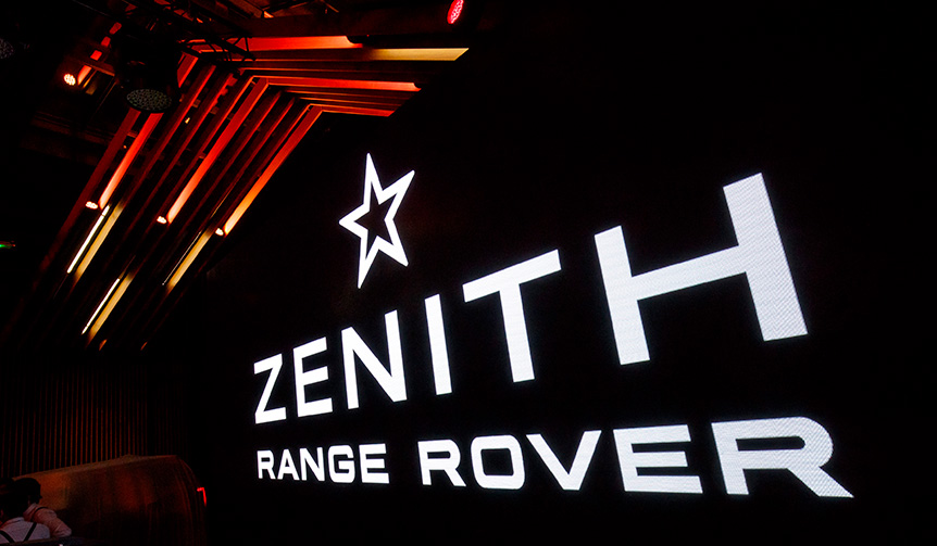 LAND ROVER|ランドローバーとゼニスがパートナーシップを締結