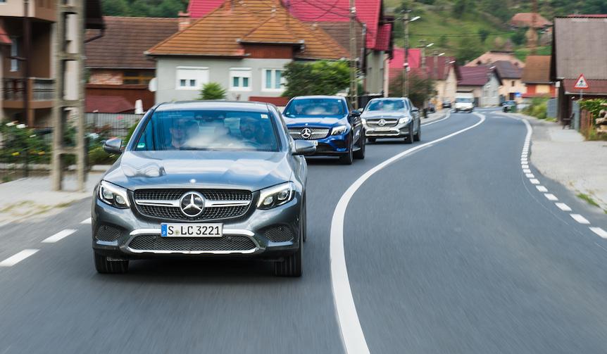 メルセデス・ベンツ GLC クーペに試乗|Mercedes-Benz