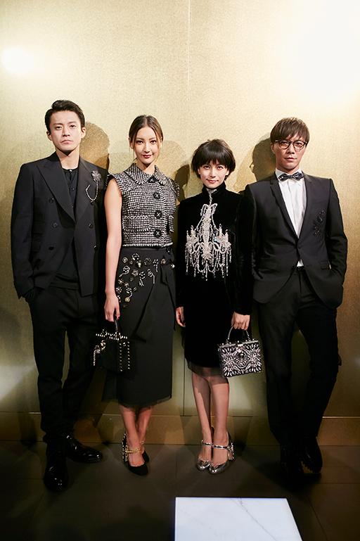 写真左から)小栗旬さん、菜々緒さん、柴咲コウさん、成宮寛貴さん