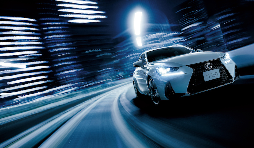 3代目ISがはじめてのマイナーチェンジ|Lexus