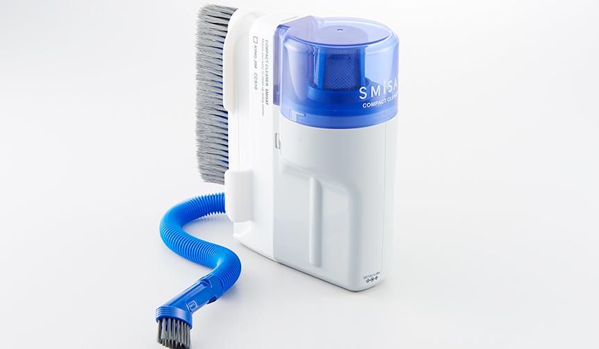 KING JIM 二種類の吸い込み口を備え、細かい場所での掃除に最適なクリーナー