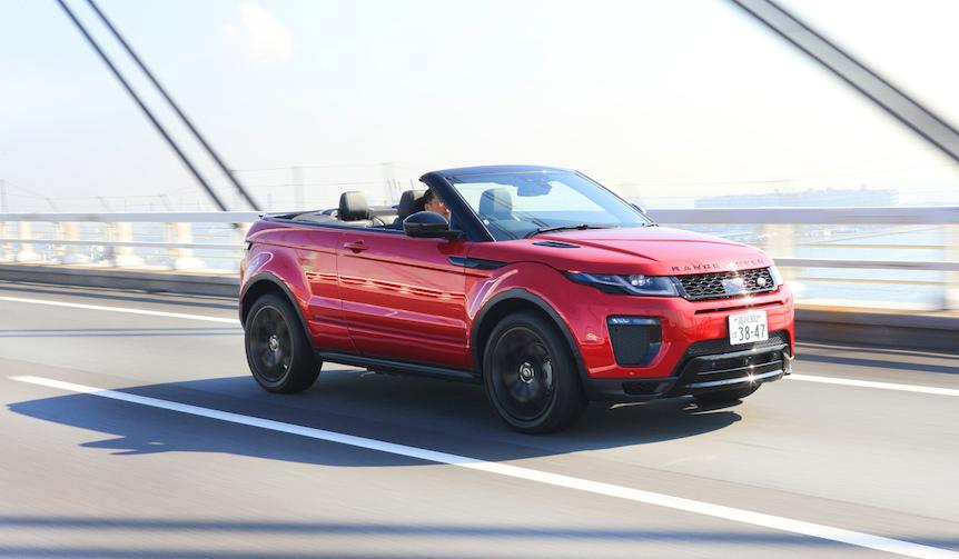 日本に上陸したレンジローバー イヴォーク コンバーチブルに試乗|Range Rover