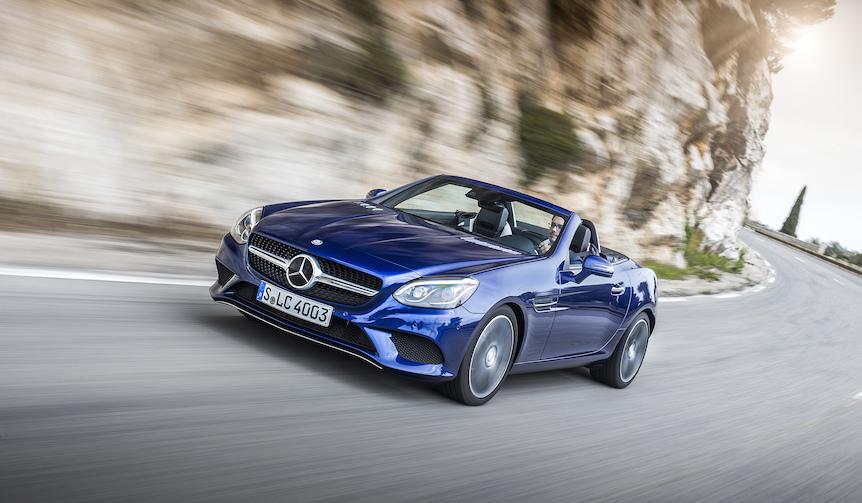 新型メルセデス・ベンツSLCに試乗|Mercedes-Benz