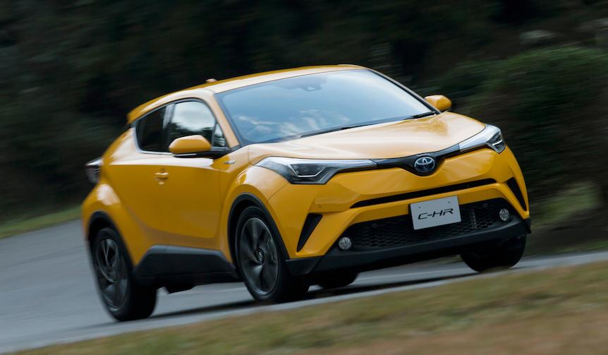 トヨタの最新コンパクトSUV「C-HR」のプロトタイプに試乗|Toyota