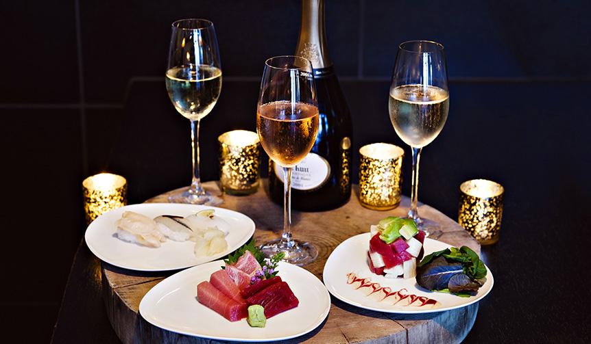 Ruinart|ルイナールがアンダーズ東京「寿司とシャンパンのガラ ラウンジメニュー」で提供