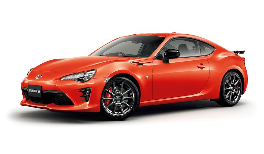 86にオレンジカラーの特別仕様車と新パッケージを発表|Toyota