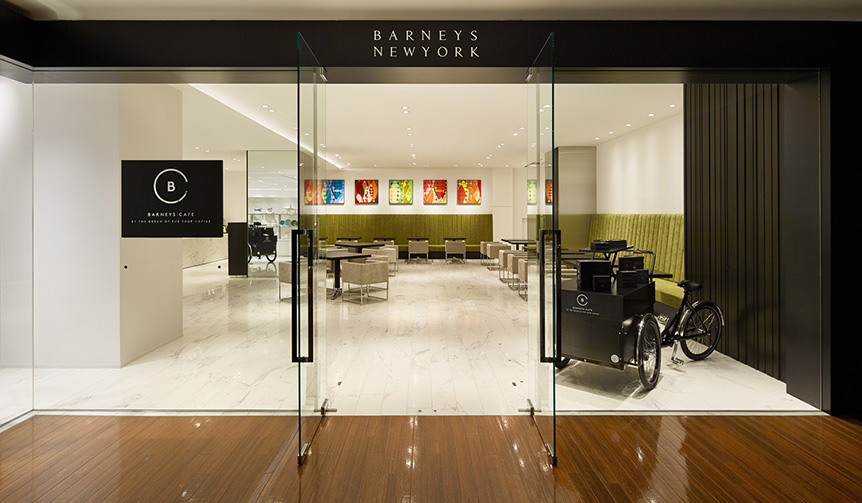BARNEYS NEW YORK|バーニーズ ニューヨーク銀座本店にカフェがオープン