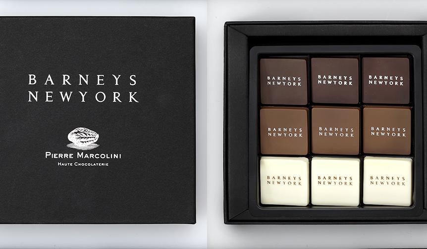 BARNEYS NEW YORK|バーニーズ ニューヨークのために開発した限定チョコレート