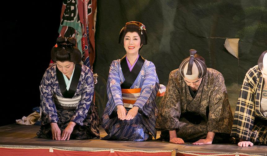 戸田恵子|舞台「遊侠 沓掛時次郎」の稽古に明け暮れた毎日