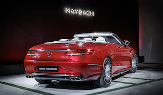 Mercedes-Mybach S 650 Cabriolet|メルセデス・マイバッハ S 650 カブリオレ