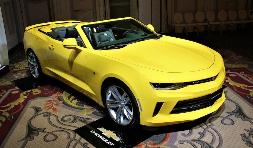新型シボレー カマロが日本上陸|Chevrolet