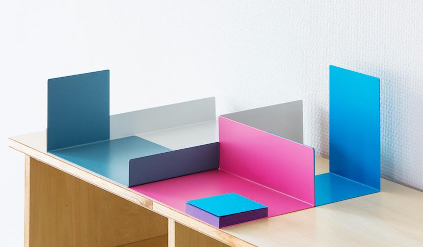 Perrocaliente デスク上の整理整頓を色と形で楽しむ「COLOR OBJECT」