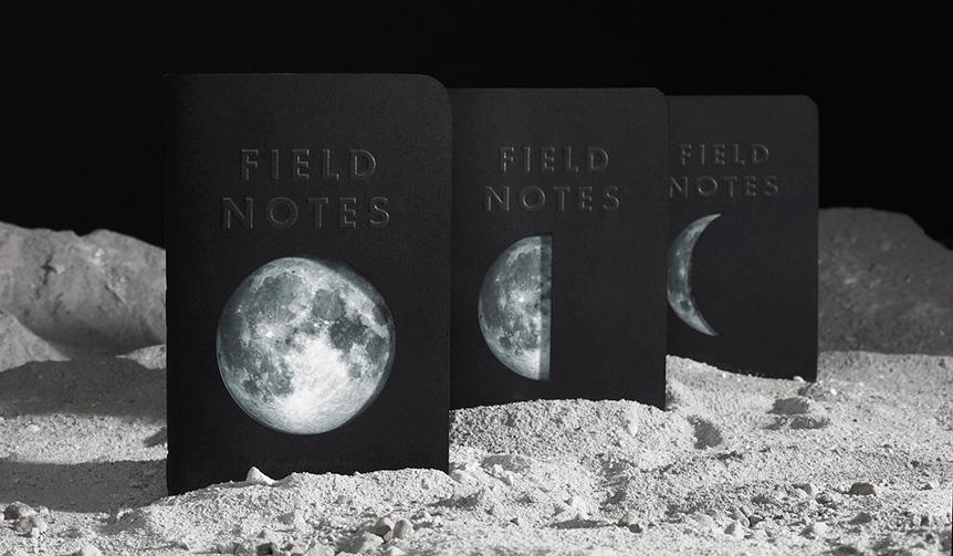FIELD NOTES|ブランド32番目の限定エディションが発売。テーマは「月」