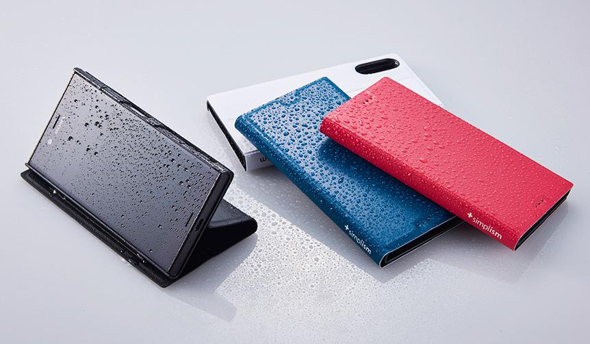 Simplism|Xperiaをお風呂に?!耐水素材を使用した薄型フリップケース
