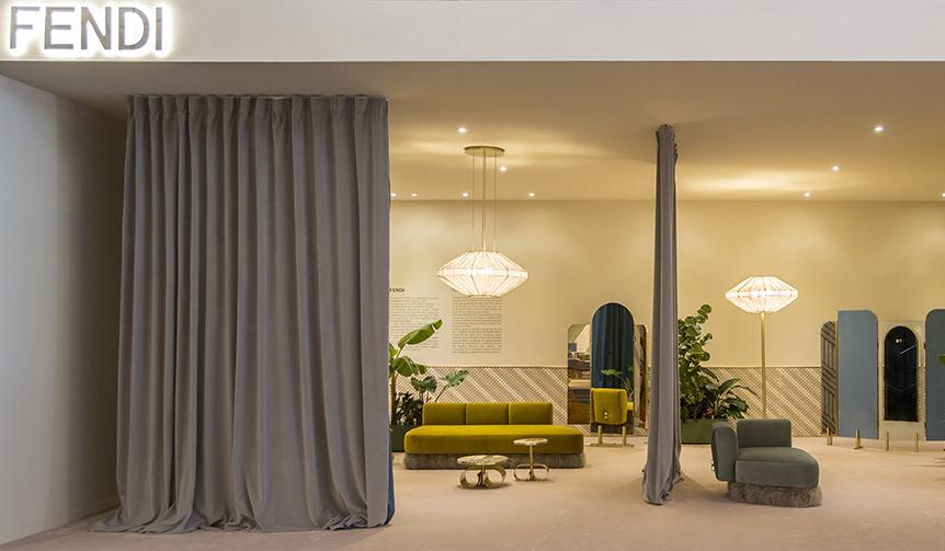 FENDI|フェンディがクリスティーナ・チェレスティーノとのコラボレーション家具を発表