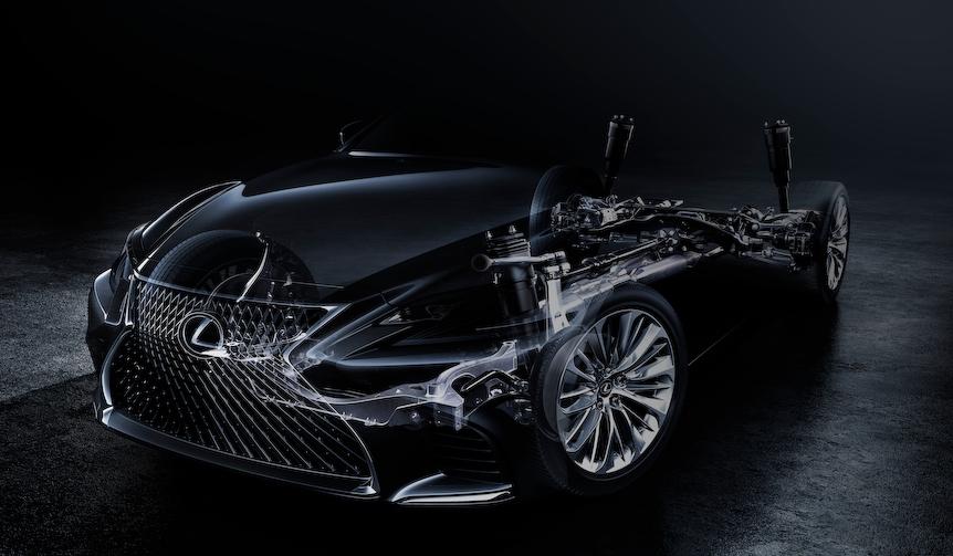 レクサス新型LSの発表を予告|Lexus