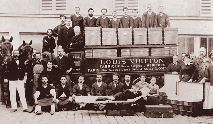 LOUIS VUITTON|遠くまで旅する人たちに……