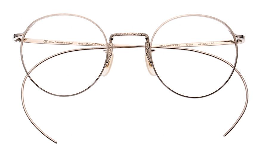 Oliver Goldsmith|二代目・オリバー・ゴールドスミスが愛用した眼鏡が復刻