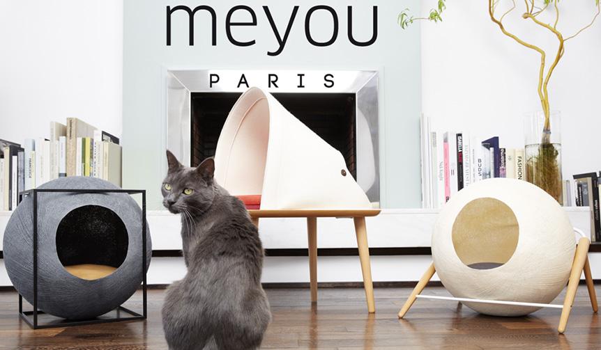 DESIGN|フランス発のデザインキャットハウスシリーズが日本上陸
