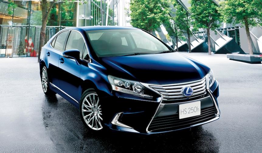 レクサスのハイブリッド セダン「HS250h」に特別仕様車|Lexus