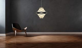 点灯時は光の彫刻、消灯時は美しいオブジェになる「H・F Series」 yamagiwa