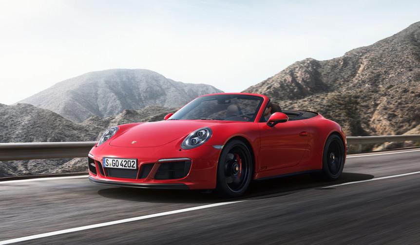 Porsche 911 Carrera 4 GTS Cabriolet|ポルシェ 911 カレラ4 GTS カブリオレ