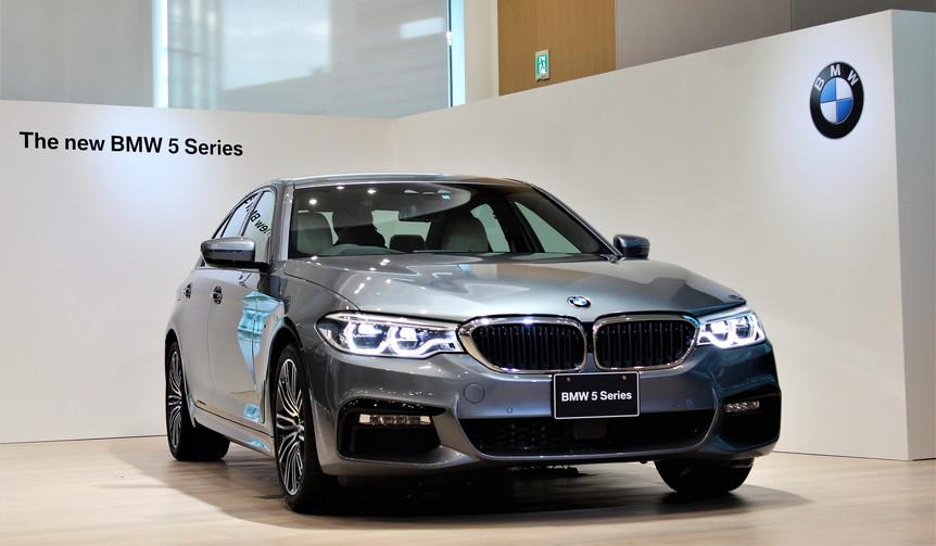 新型BMW 5シリーズが日本上陸 BMW