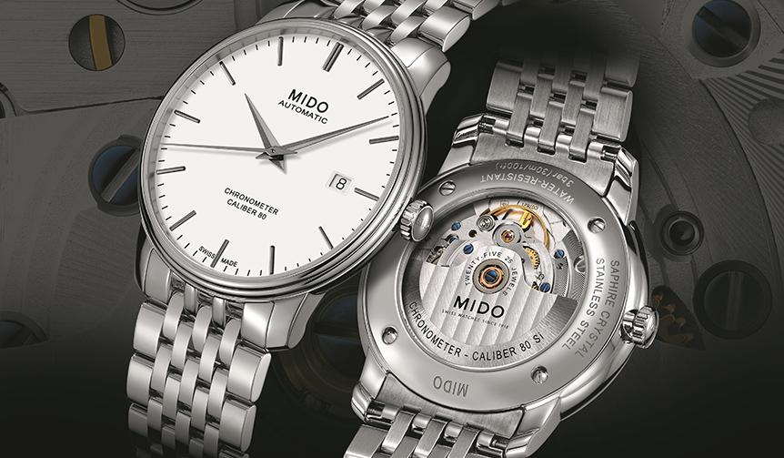 MIDO バロンチェッリシリーズ40周年記念モデルが登場